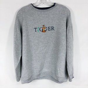 Vintage Tigger Embroidered Pullover Sweatshirt